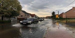 Heftige Stürme drehen Sie den Flanders plain, nasseste Tag bis 2020