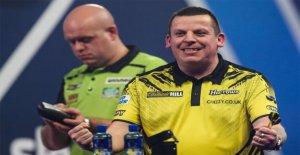 Die überraschung, das format an der Weltmeisterschaft im darts: TopFavorit Michael van Gerwen in der Pfanne, schneiden Sie in Viertel-finals der Mörder van den Bergh